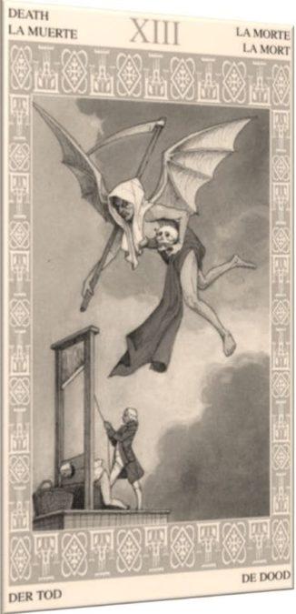 XIII – Смерть – Обрыв