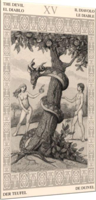 XV – Дьявол – Чувственность
