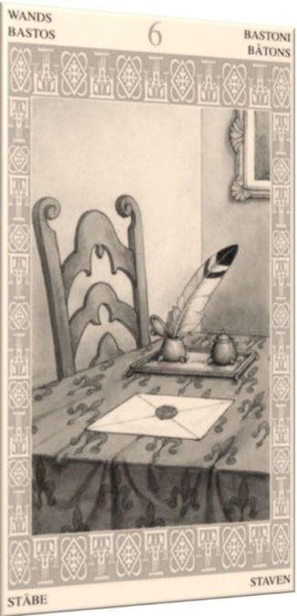6 Жезлов – Письмо